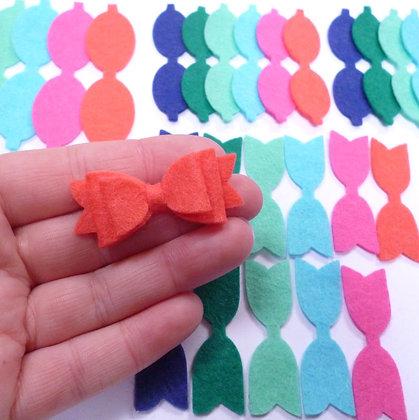 Die Cut Pack :: Mini Bows :: Tropical