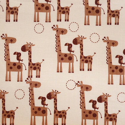 Fabric :: Giraffe Crossing :: Giraffes