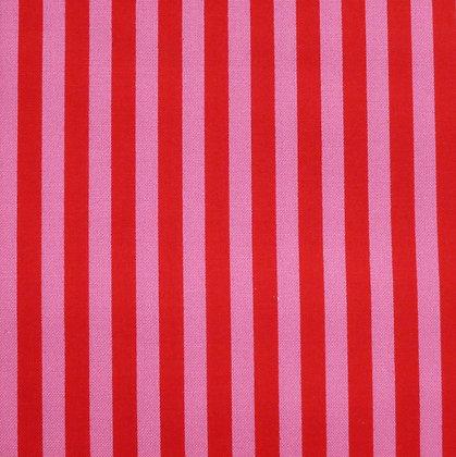 Fabric :: Clown Stripe :: Poppy & Berry