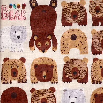 Fabric :: Bears in the Woods