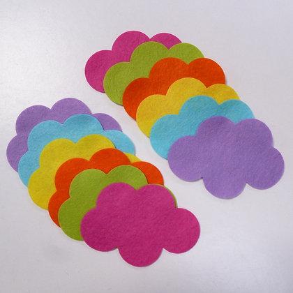 Die Cut Pack :: Clouds :: Neon Lights