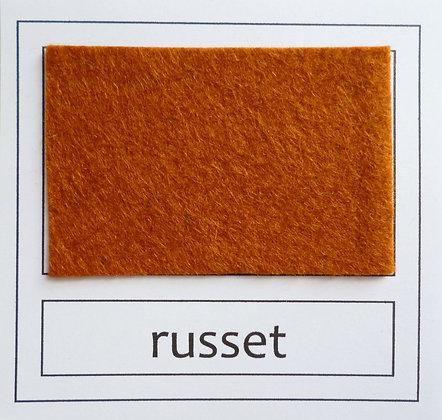"""Die Cut Pack :: 1"""" circles :: Russet"""