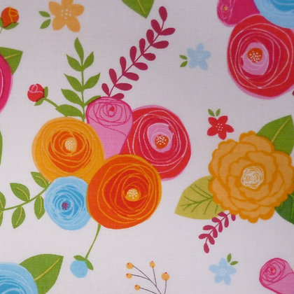 Fabric :: Simply Happy :: Blooms