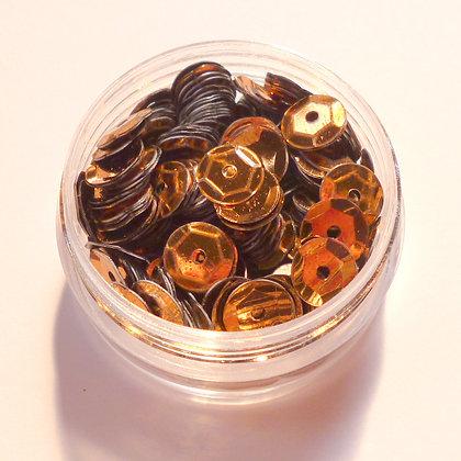 7mm Sequins :: Brown