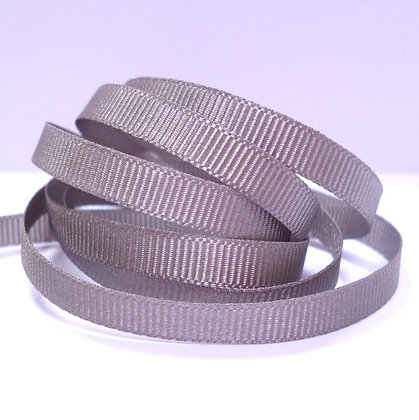 6mm Grosgrain Ribbon :: Grey (9704)