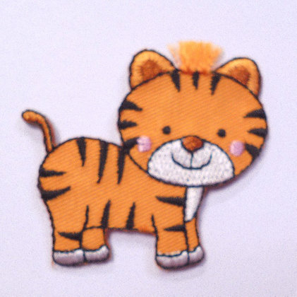Embroidered Motif :: Safari :: Tiger
