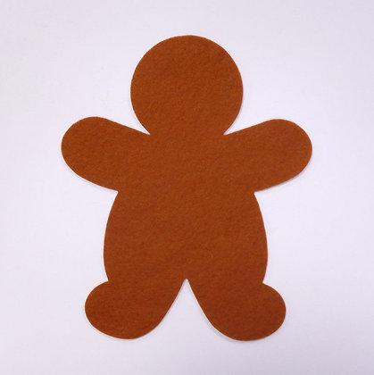 Die Cut :: Gingerbread Man :: Russet
