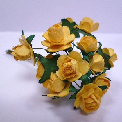 Paper Roses :: Yellow