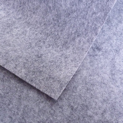 Granite - Heathered Felt - cut from the roll