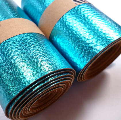 Vinyl Remnant Roll :: Textured :: Electric Blue