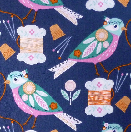 Fabric :: Stitches :: Sewing Birds