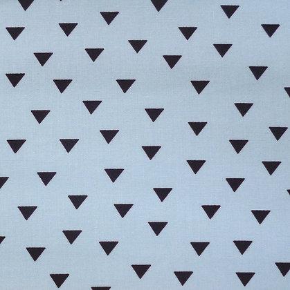 Fabric :: Little Super Hero :: Blue & Black Triangles