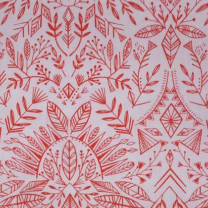 Fabric :: Skogen :: Folk Snowflake
