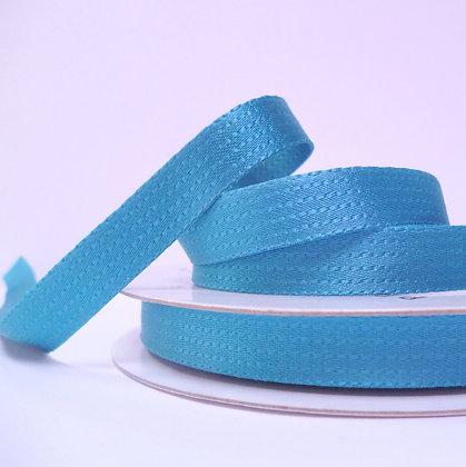 Stitch-Look Satin Ribbon :: Teal
