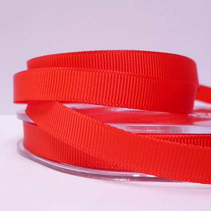 10mm grosgrain :: by the metre :: Red