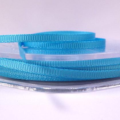 3mm Mini Grosgrain Ribbon (5 metres) :: Turquoise