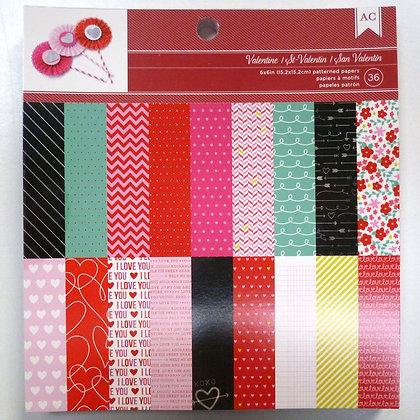 "6"" paper pad :: st. valentine"