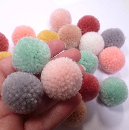 Box of Pom Poms :: Yarn :: Pastel