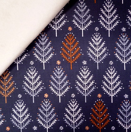 Fabric Felt :: Winterfold :: Forest on Natural