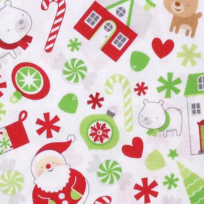 SALE Fabric :: Christmas Characters