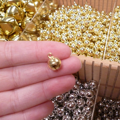 Jingle Bell :: Small 7mm Gold