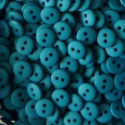 Teeny Tiny Buttons (x25)  :: Teal