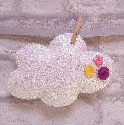 Handmade :: Fluffy Cloud :: XL Chunky Glitter