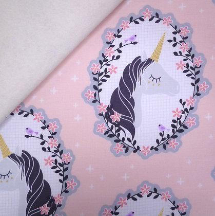 Fabric Felt :: Do You Believe? :: Unicorn Portrait on Natural