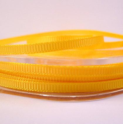 3mm Mini Grosgrain Ribbon (5 metres) :: Yellow