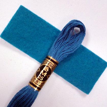 DMC Embroidery Thread :: Teal (3765)