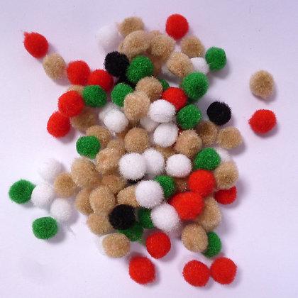 Pom Poms :: Tiny Christmas Mix #2