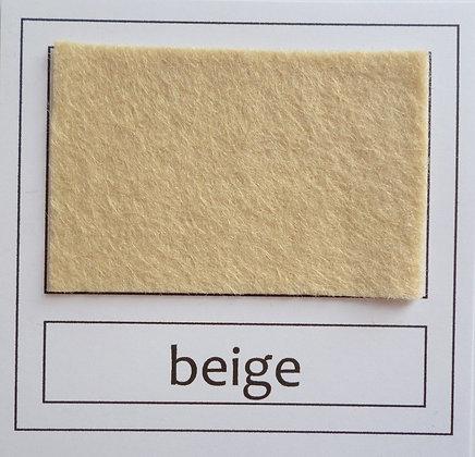 """Die Cut Pack :: 1"""" circles :: Beige"""