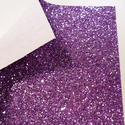 Chunky Glitter sheet :: Silver Pink II