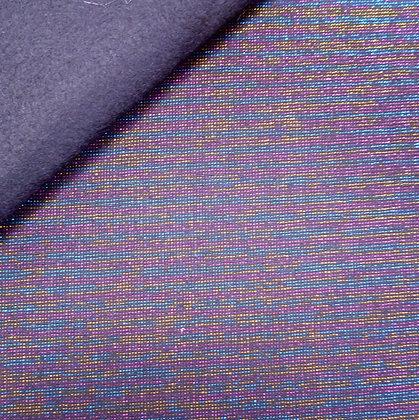 Fabric Felt :: Essex Yarn Dyed Metallic :: Disco black on black