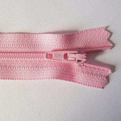 "4"" Zips :: Pale Pink"