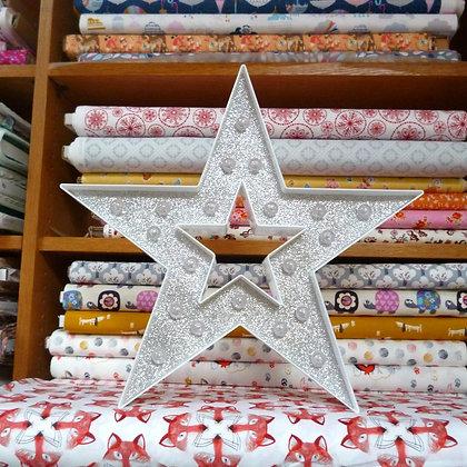 Light up Sign :: XL Glittery Star