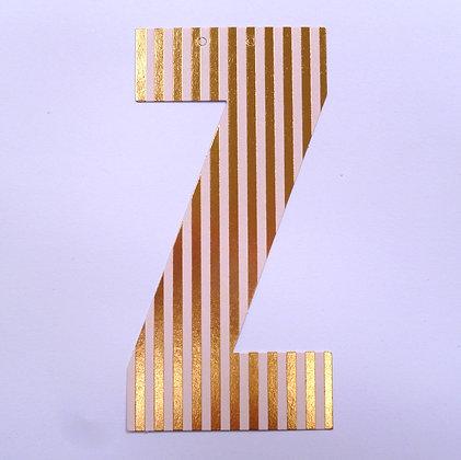 Make A Garland :: Letter :: Z