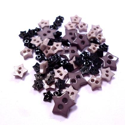 Pack of Tiny Stars :: Monochrome