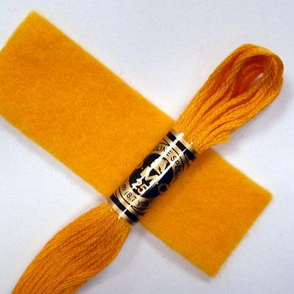 DMC Embroidery Thread :: Mustard (972)