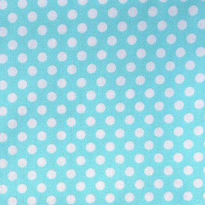 Fabric :: Kiss Dot :: Turquoise