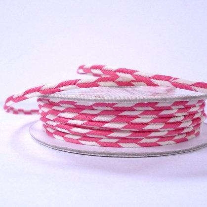 Pastel Spools :: Plaited Cord :: Deep Pink