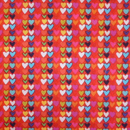 Fabric :: Happy! :: Little Hearts Red
