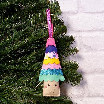 Fir Tree (Bright) Christmas Decoration Kit