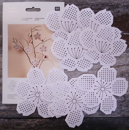 Stitchables :: Cherry Blossom Flowers