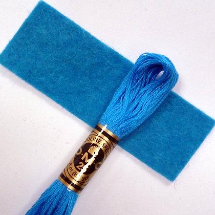 DMC Embroidery Thread :: Brilliant Blue (3843)