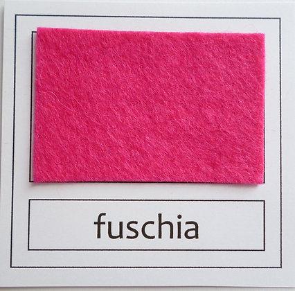 """Die Cut Pack :: 1"""" circles :: Fuchsia"""