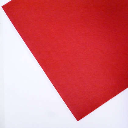 3mm THICK felt :: Red