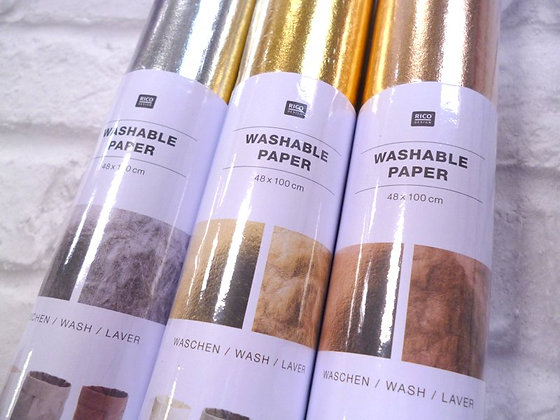 Washable Paper Roll :: Gold