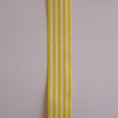 Pencil Stripe Ribbon :: Yellow