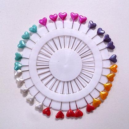 Pin Wheel ::  Heart Rainbow